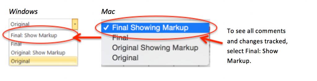 FinalShowingMarkup Dropdowns