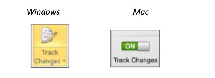 TrackChanges